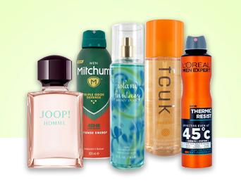Body Spray & Deodorants