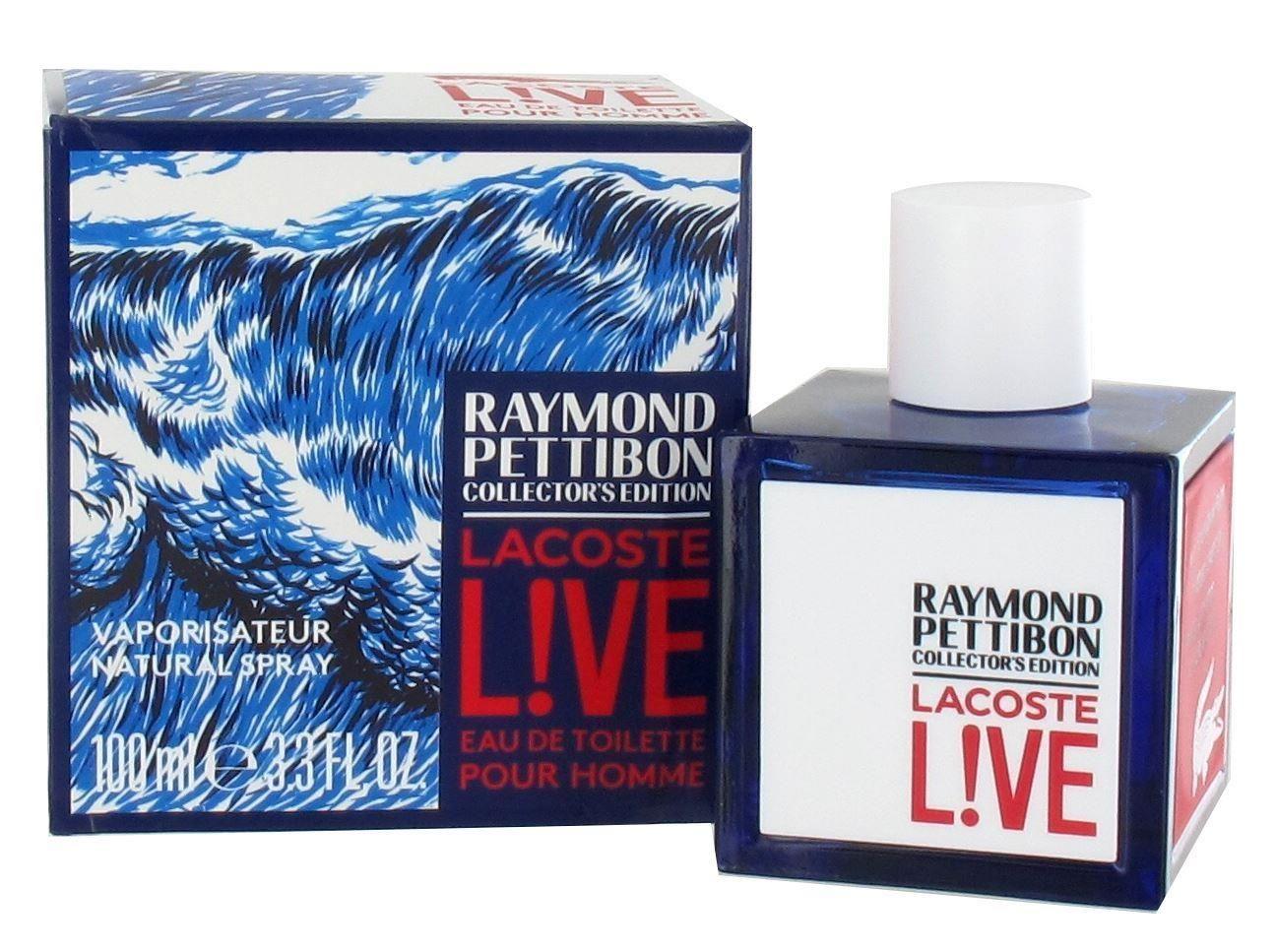 nowy styl urzędnik największa zniżka Lacoste Live Raymond Pettibon Collectors Edition 100ml Eau de Toilette  Spray for Him