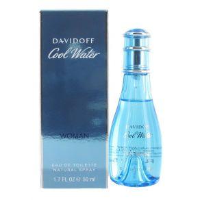 Davidoff Cool Water Woman 50ml Eau de Toilette Spray for Women