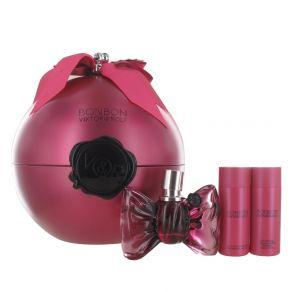 Viktor & Rolf Bonbon 50ml Eau de Parfum Gift Set 50ml Shower Gel, 50ml Body Lotion for Her