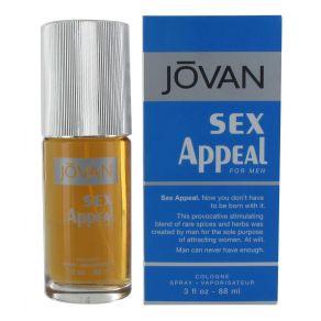 Jovan Sex Appeal 88ml Eau de Cologne Spray for Him
