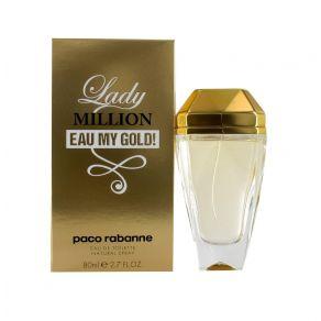 Paco Rabanne Lady Million Eau my Gold 80ml Eau de Toilette Spray for Her