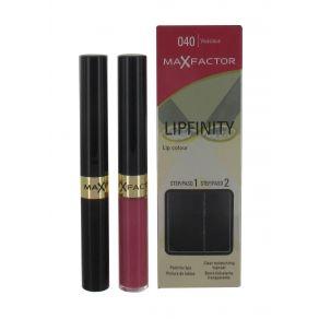Max Factor Lipfinity Lip Colour Lipstick  -  Vivacious #040
