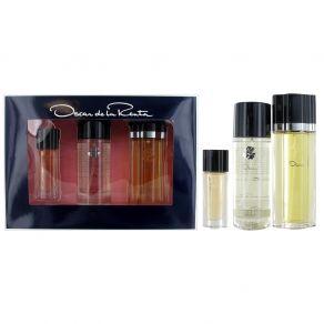 Oscar De La Renta 100ml Eau de Toilette Gift Set 250ml Body Mist, 15ml Eau de Toilette Spray for Her