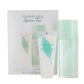 Elizabeth Arden Green Tea Gift Set 100ml Eau de Toilette Spray, 100ml Honey Drops Body Lotion for Her