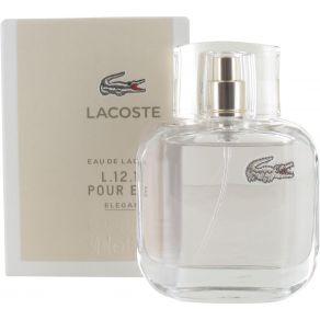 Lacoste Eau De Lacoste L.12.12 Pour Elle Elegant 50ml Eau de Toilette Spray for Her