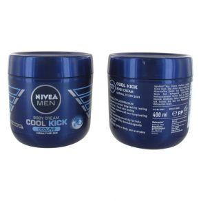 Nivea For Men Cool Kick Cooling 400ml Body Cream