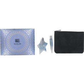 Thierry Mugler Angel 25ml Eau de Parfum Gift Set 10ml Eau de Parfum, Pouch Bag for Her