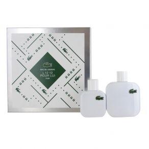 Lacoste Eau De Lacoste Blanc 100ml Eau de Toilette Gift Set  50ml Eau de Toilette for Him