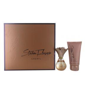 Cheryl Stormflower 30ml Eau de Parfum Spray and 75ml Body Wash Gift Set for Her