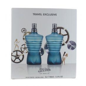 Jean Paul Gaultier Le Male 2 x 40ml Eau de Toilette Spray Duo