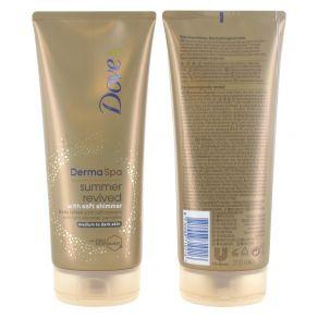 Dove DermaSpa Summer Revived Shimmer Body Lotion Medium-Dark 200ml