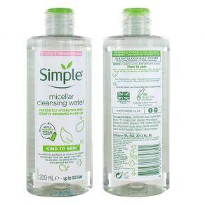 Simple Kind to Skin Micellar Cleansing Water 200ml