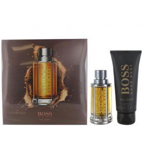 Hugo Boss Boss The Scent 50ml Eau de Toilette Spray, Gift Set 100ml Shower Gel for Him