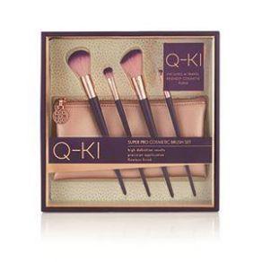 Q-KI Essential Super Pro Cosmetic Brush Travel Kit
