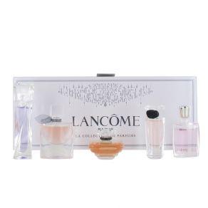 Lancome Miniature Gift Set La Vie Est Belle 5ml Eau de Parfum, Hypnose 5ml Eau de Parfum, Tresor in Love 5ml Eau de Toilette, Tresor 7ml Eau de Toilette Miracle 5ml Eau de Parfum for Her