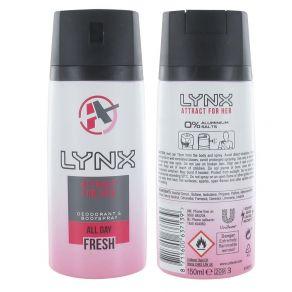 Lynx Attract for Her Body Spray Deodorant 150ml