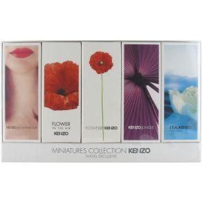 Kenzo Jeu D'Amour, Jungle, Flower in The Air, Flower and L'Eau par Kenzo Miniature Gift Set