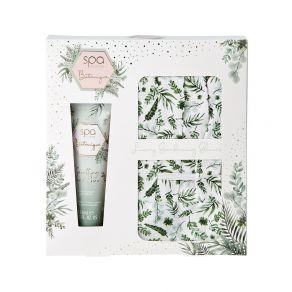 Style & Grace Spa Botanique Garden Glove Gift Set  - Pair Garden Gloves, 125ml Hand Cream