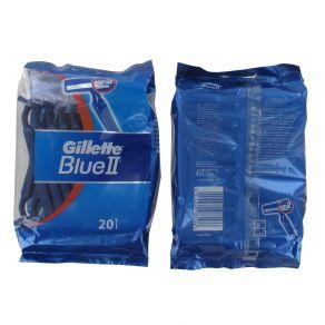Gillette Blue II Disposable Razors 20 Pack