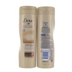 Dove Nourishing Visible Glow Self Tan Lotion 250ml for Medium - Dark Skin
