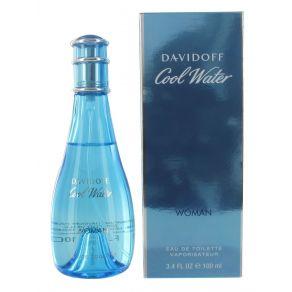 Davidoff Cool Water Woman Eau de Toilette Spray 100ml for Her