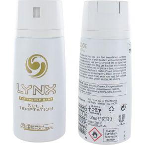 Lynx Gold Temptation Body Spray Deodorant 150ml