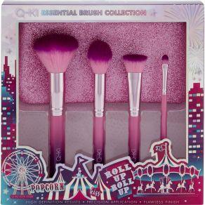 Q-KI Essential Makeup Brush Collection Gift Set