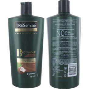 TRESemme Pro Colletion Botanique Nourish & Replenish 700ml Shampoo with Coconut Oil & Aloe Vera