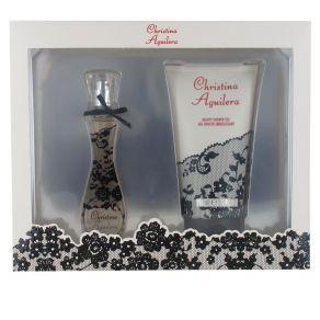 Christina Aguilera Woman Gift Set 30ml Eau de Parfum Spray, 150ml Shower Gel for Her