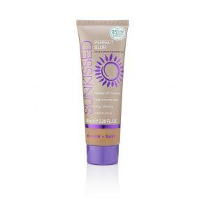 Sunkissed Perfect Blur Face & Body Foundation 100ml Medium/Dark - 95% Natural Ingredients