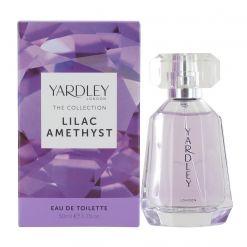 Yardley Lilac Amethyst 50ml Eau de Toilette Spray for Her