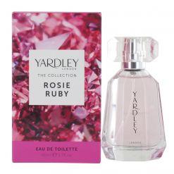 Yardley Rosie Ruby 50ml Eau de Toilette Spray for Her