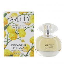 Yardley Decadent Mimosa 50ml Eau de Toilette Spray for Her